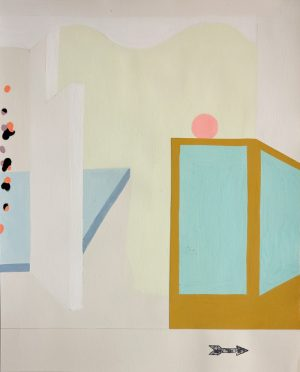 Michelle Weinberg - painting - After Party