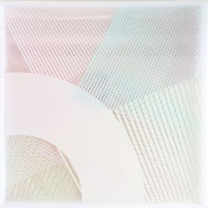 Kate Banazi - Through the Square Window 121 - Screenprinting on Perspex