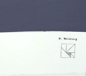 Michelle Weinberg - Stagecraft - painting