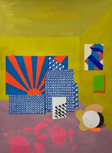 Michelle Weinberg - Indoor Sunrise - painting