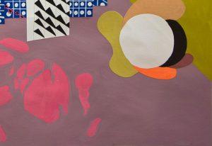 Michelle Weinberg - Indoor Sunrise - painting