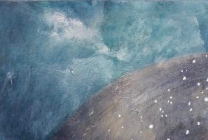 Susie Dureau - Painting - The Stars and Their Course