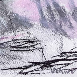 Amanda Schunker - Cool Storms Coming 2 - painting - mixed media
