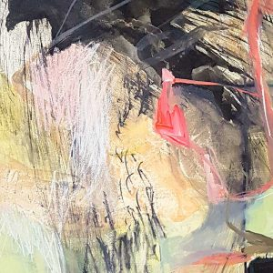 Amanda Schunker - Interlaced Escarpment - painting - mixed media