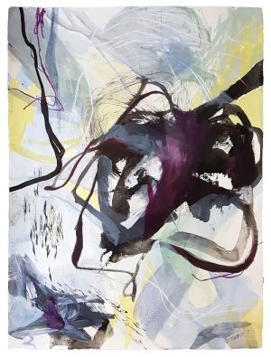Amanda Schunker - Synergy - painting - mixed media
