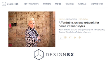 Designbx - Sophie Vander Interview