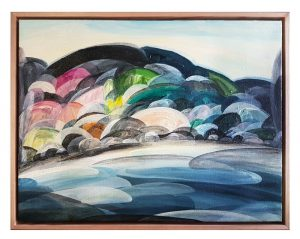 Ingrid Daniell - Painting - Light on Time from a Reefs Perspective