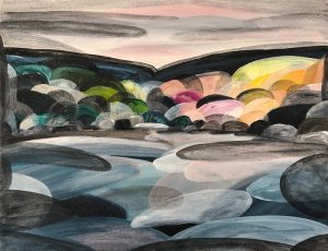 Ingrid Daniell - Painting - Shadows Night Moving In