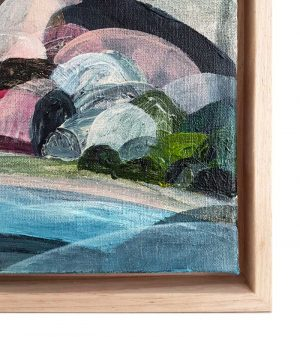 Ingrid Daniell - Painting - Soft Light Perspective from the Ocean