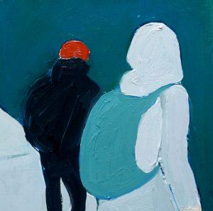 Maria Kostareva - After a Snowfall - Painting
