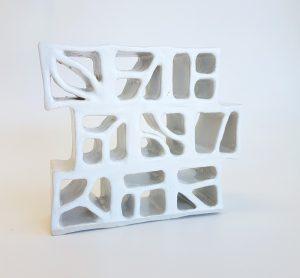 Natalie Rosin - Ceramics sculpture - Breezeblocks 1