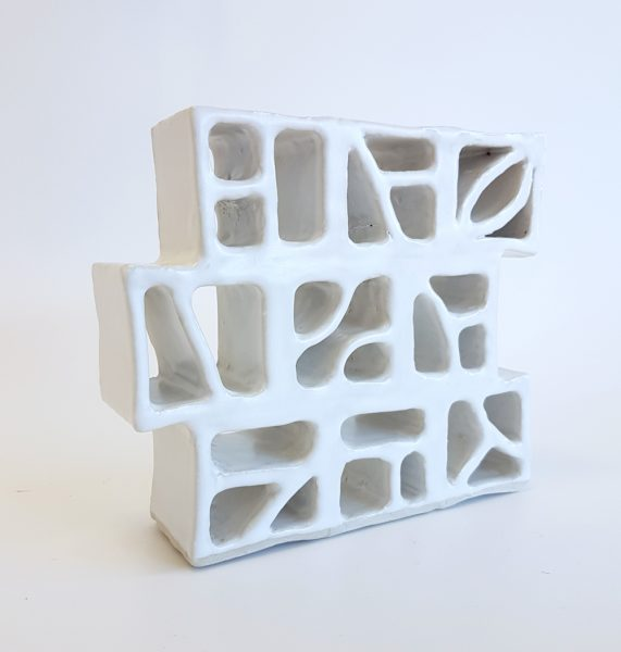 Natalie Rosin - Ceramics sculpture - Breezeblocks 1
