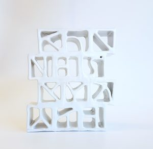 Natalie Rosin - Breezeblocks - ceramics