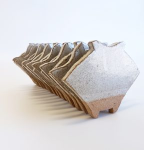 Natalie Rosin - Horizon - ceramics