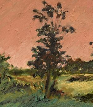 Kevin Perkins - Landscape painting - Trees and Shrubbery After Bannister - Landscape painting