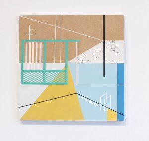 Mairi Timoney - Valley - Collage art