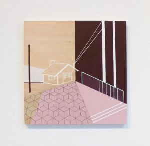 Mairi Timoney - Clearing - Collage art