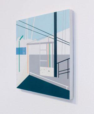 Mairi Timoney - Wires - Collage art