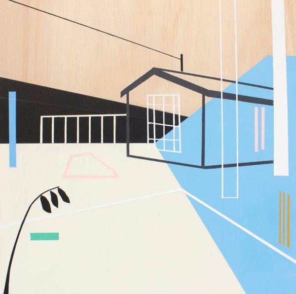 Mairi Timoney - Still - Collage art