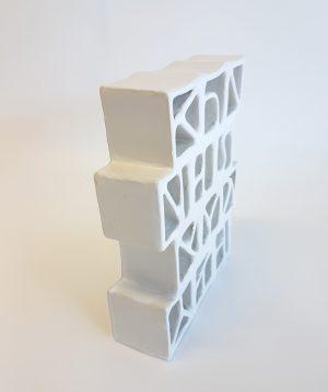 Natalie Rosin - Breezeblocks - ceramics