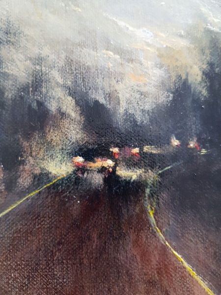 Susie Dureau - The National - oil painting