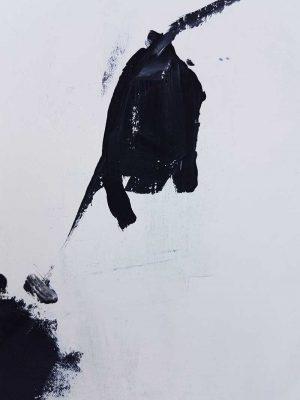 Antonia Mrljak - High as Hope - abstract painting