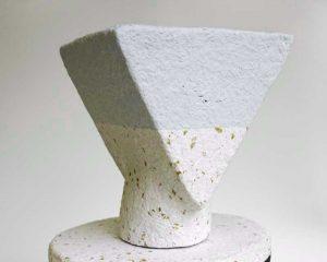Dear Human - Standing Figure - paper sculpture