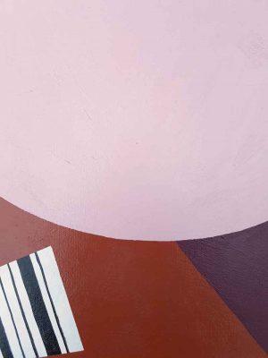 Rachael McCully Kerwick - Reading Melissa Tkautz's Lips - painting