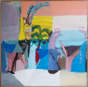 Madeleine Cruise - Brisbane Suburb - painting
