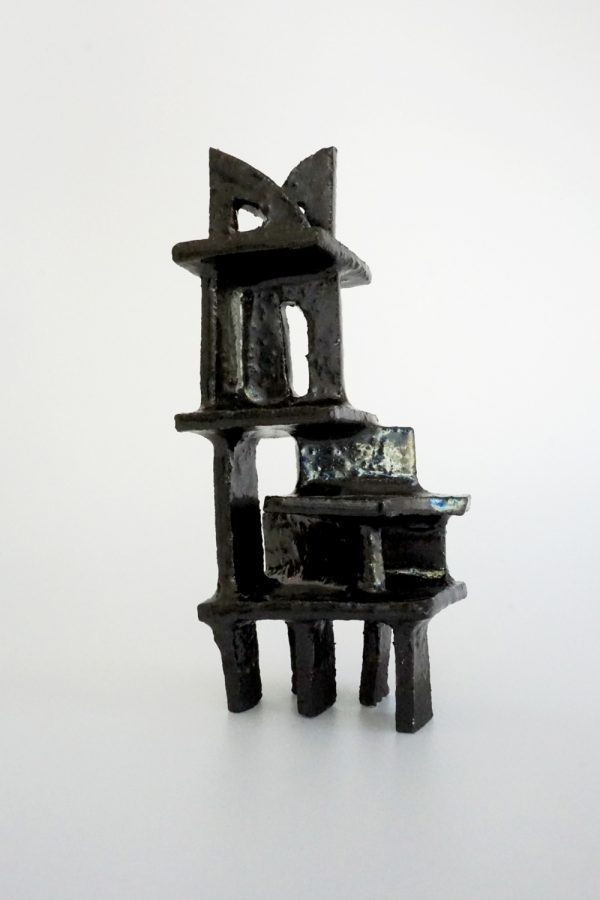 Natalie Rosin - ceramic sculpture - architecture