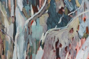 Amy Wright - Inverleigh Silver Gum - landscape painting