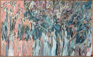 Amy Wright - Inverleigh Silver Gums - landscape painting