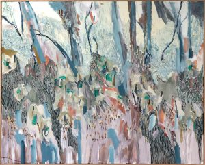 Amy Wright - You Yangs Escarpment - landscape painting