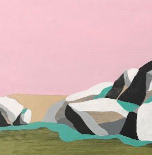 Peta Morris - Afternoon in Spring - landscape painting