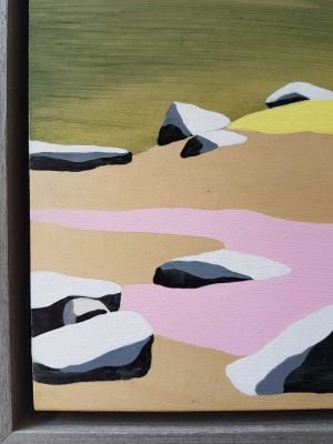Peta Morris - Midday in Spring - landscape painting