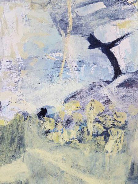 Amanda Schunker - landscape painting - Glassy Underworld