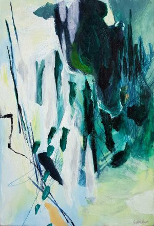Amanda Schunker - landscape painting - Breaking Through 1