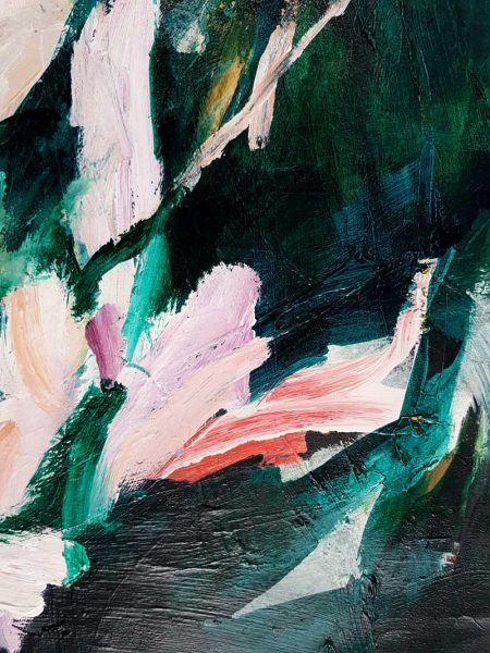 Antonia Mrljak - It is Safe Right Where You Are - Abstract Painting