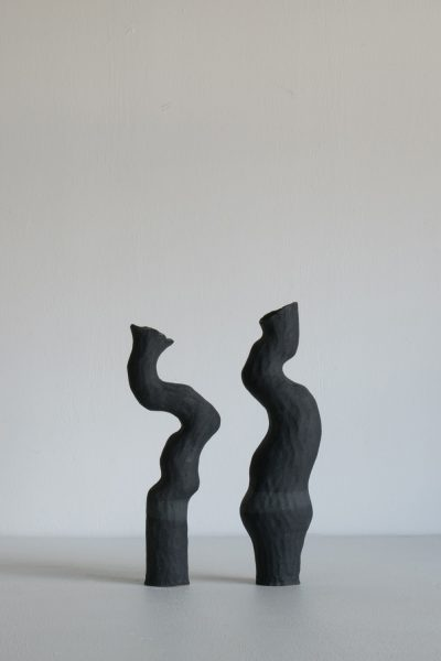 Kerryn Levy - Asymmetry Pair- Australian ceramics