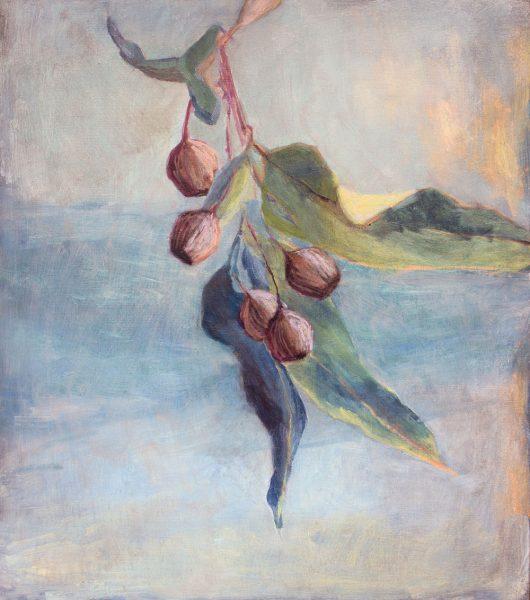 Susie Dureau - Botanical I - landscape painting