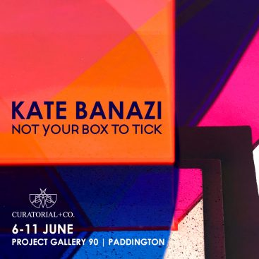 Kate Banazi - Not Your Box to Tick - art exhibition