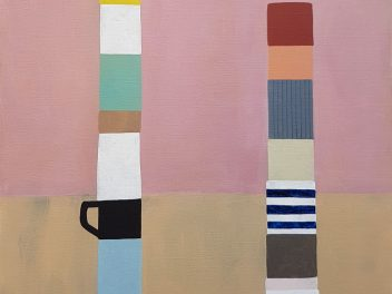 Rachael McCully Kerwick - Household Totems by Idle Hands I - painting