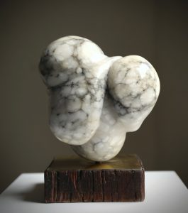 Carol Crawford - Bubbe - Marble Scultpure