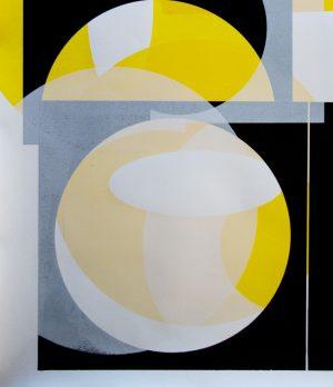 Kate Banazi - Historical Layers 1 - Silkscreen Print