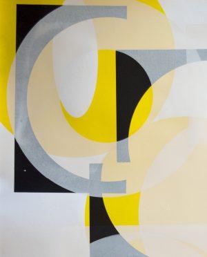 Kate Banazi - Historical Layers 2 - Silkscreen Print