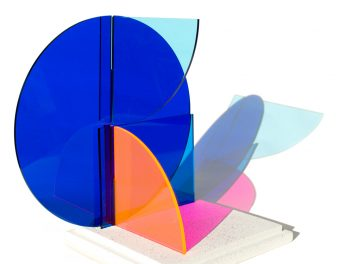 Kate Banazi - Interactions 2 - Acrylic panel sculpture