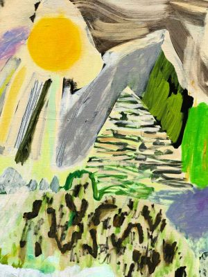 Kaitlin Johnson - After the Rain - Painting