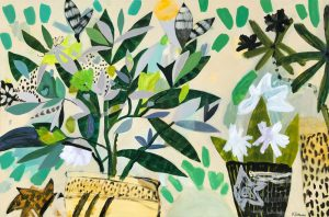 Kaitlin Johnson - Jungle Greens - Painting