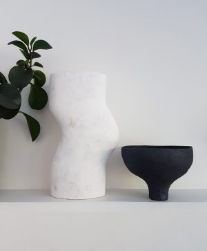 Katarina Wells - Footed Vessel - Ceramic Sculpture