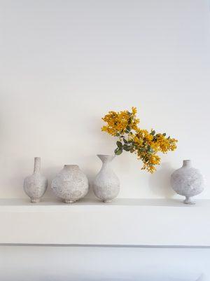 Katarina Wells - Chalk Vase 2 - Ceramic Sculpture 3